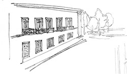Building Facade Sketch