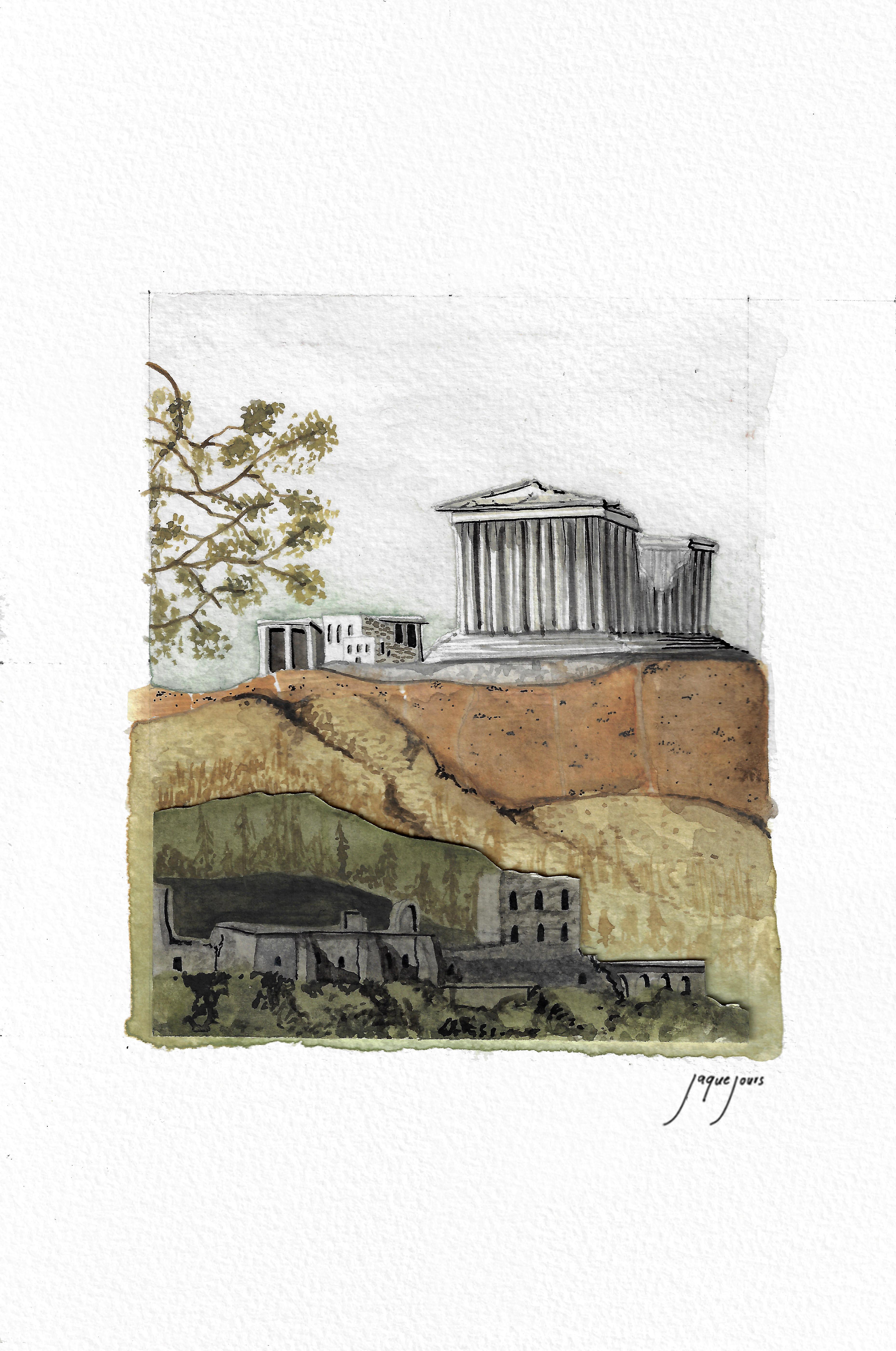 Partenón, Atenas, Grecia