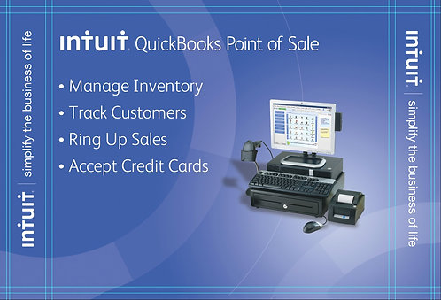 QuickBooks Point of Sale v12 with Hardware Bundle