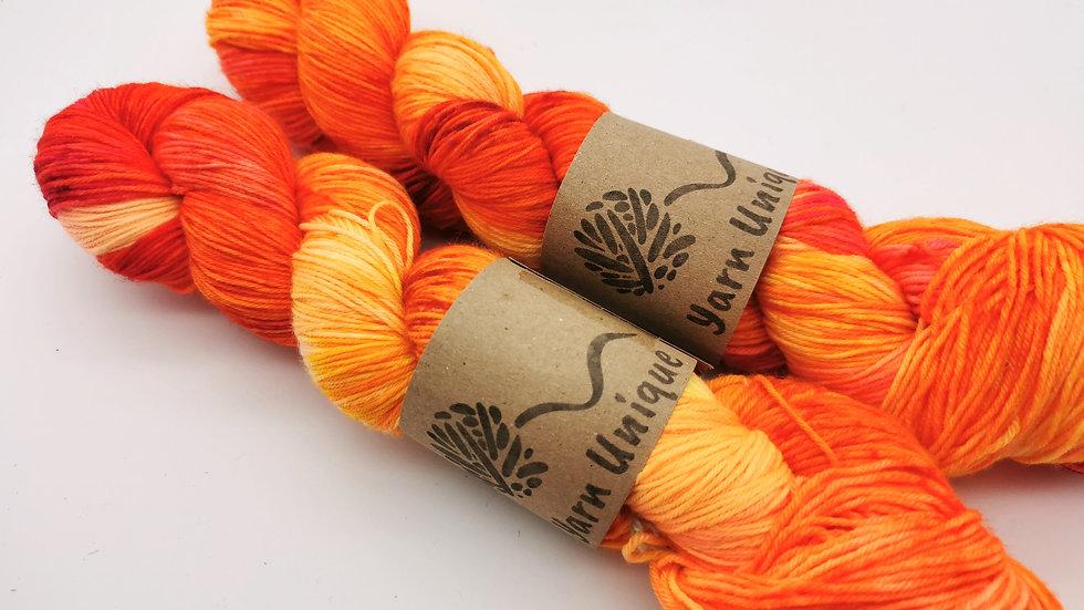 Firebird (4Ply/Fingering) Sock