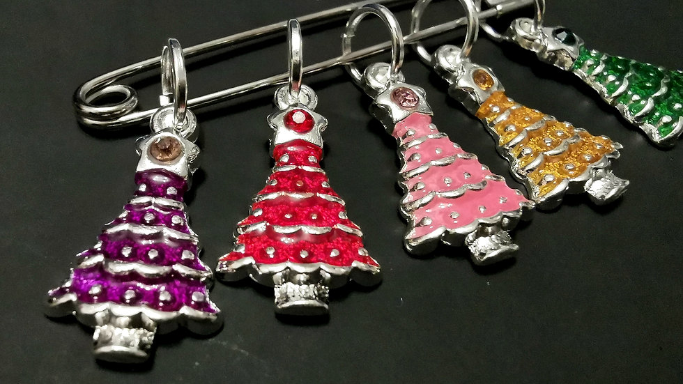 Christmas Tree Stitch Markers
