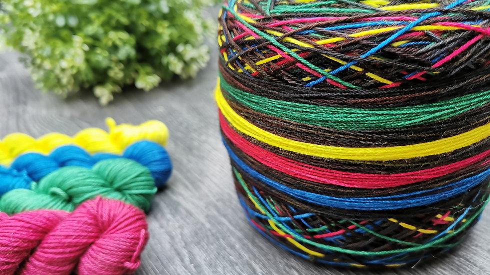 Sorting Hat Self Striping sock yarn