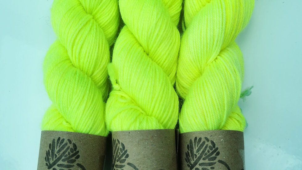 Lemon Zing - UV Neon (4Ply/Sock