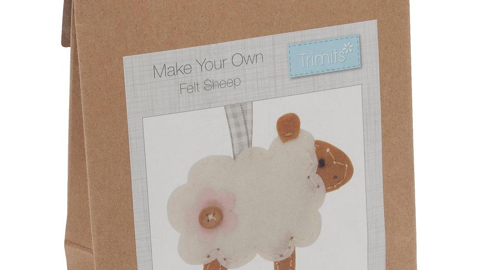 Sheep Felt Sewing Kit