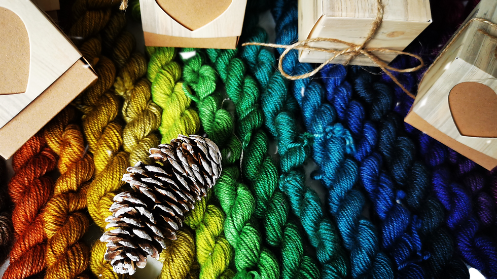 Yak Sock Yarn Advent Calendar: 12 Day