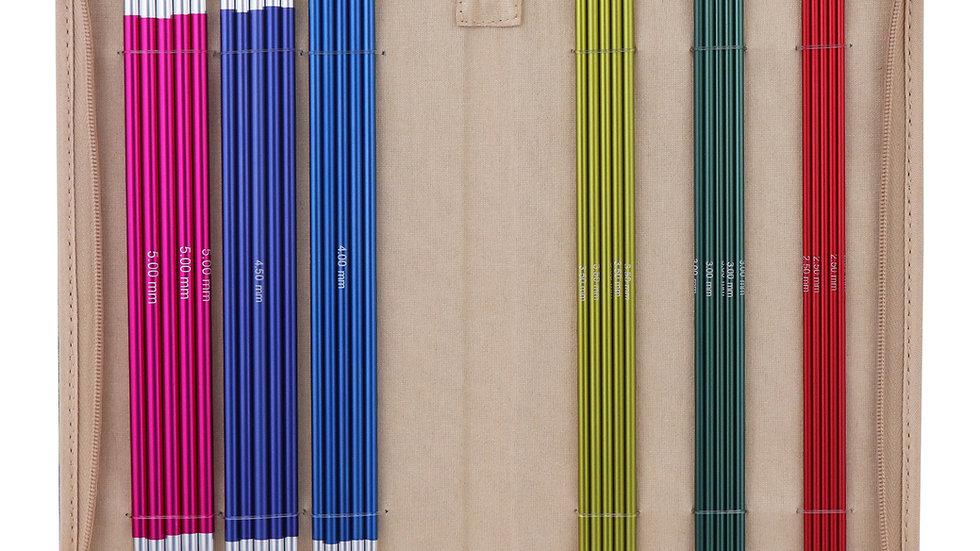 Knitpro Zing: 20cm DPN Set