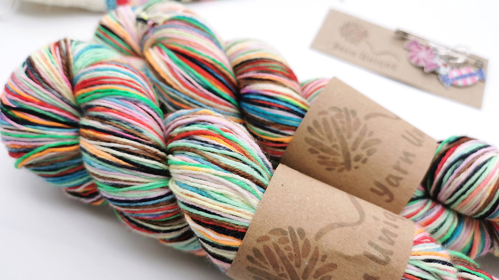 Every Flavour Yarn: Self-Striping 4Ply Sock