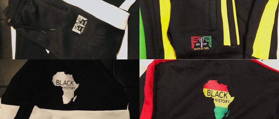 Black history jumpsuits