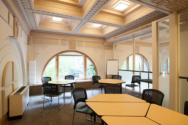 Host your next workshop or presentation at The Amp. Contact us for more details, or to book a tour.