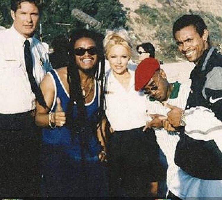 Rayvon ,Shaggy,Maxi Priest,David Hasselhoff,Pamela Anderson