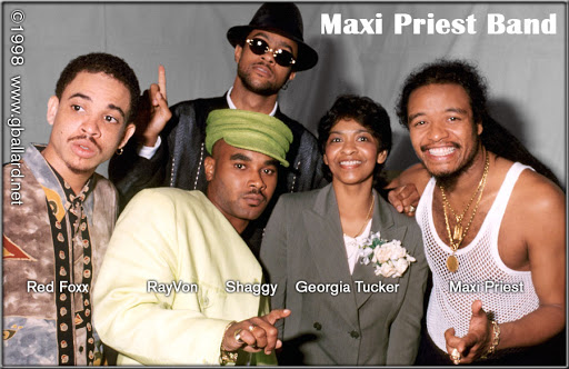 Maxi Priest Band