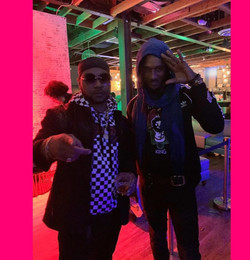 Rayvon alongside Ky-enie King (Spirit of a Warrior)