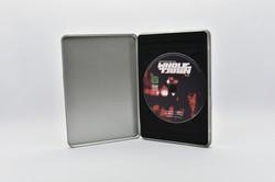 DVD Metallbox mit Samttray