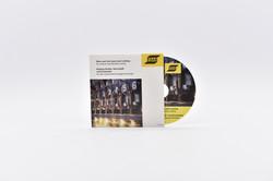 Mini-CD 8cm in Stecktasche