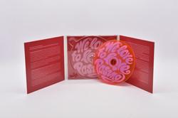 Digipack 6s. mit Visual-CD rot