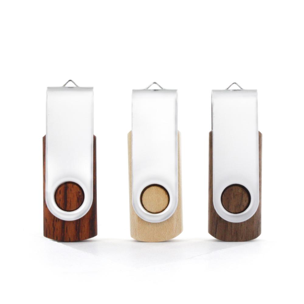 USB-Stick Twister Wood