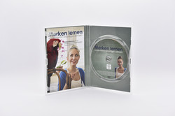 DVD-Box clear mit Booklet