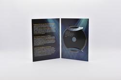 DVD-SinglePac mit UV-Glanzlack