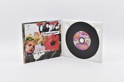 Digipack mit Tray weiss + Vinyl-CD