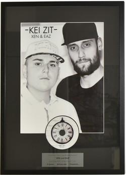 Award mit bedruckter CD