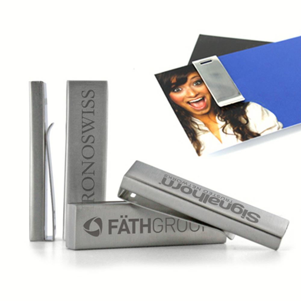 USB-Stick Clip Metal