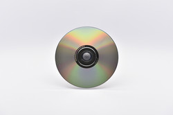 CD-Rohling Rückseite