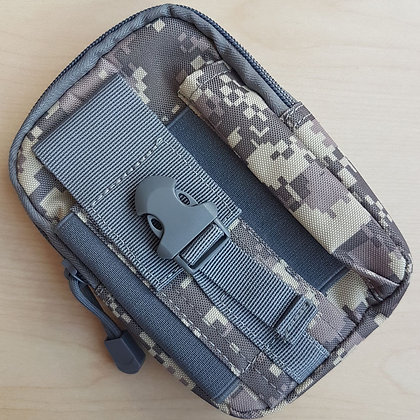 Camo Pouch with MOLLE-compatible belt loop