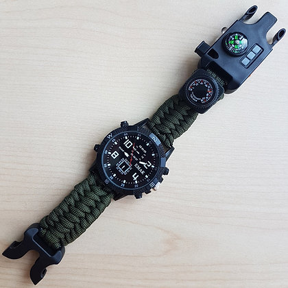 Survival Tool Singapore, Paracord, Paracord Watch, Camping Gear, Hiking, Outdoor Tools