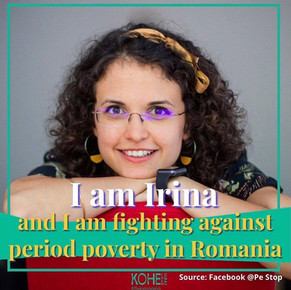 Pe Stop-or how a Romanian NGO is fighting period poverty
