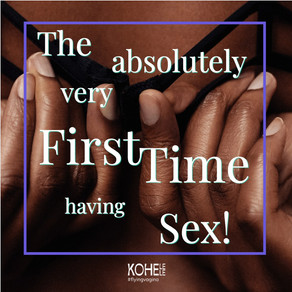 Sex for the first time. What do you need to know? 👀