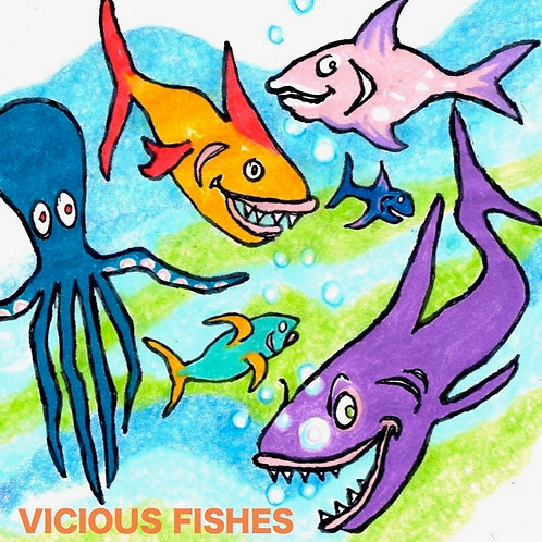 Vicious Fishes CD