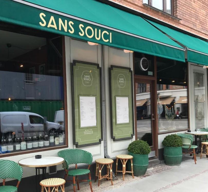 SANS SOUCI RESTAURANT & WINE BAR KBH