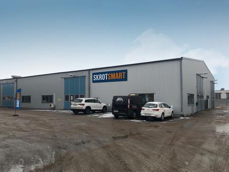 SkrotSmart öppnar i Halmstad