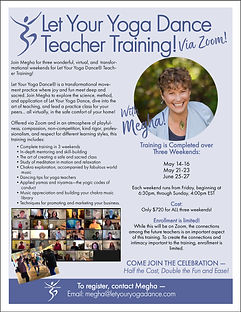 LYYD Teacher Training Zoom May 2021 date