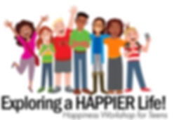 Exploring a Happier Life for Teens logo.