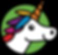 Onword Upword Unicorn Logo unicorn only.