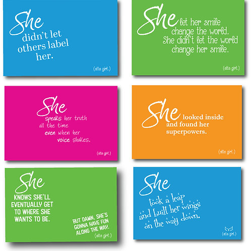 She Empowerment Cards