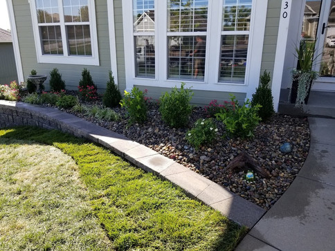 Summit Way Platte City Landscape Renovat