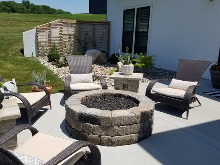 Fall and Fire Pits