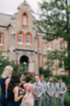 emotional groom - Daylesford wedding photography