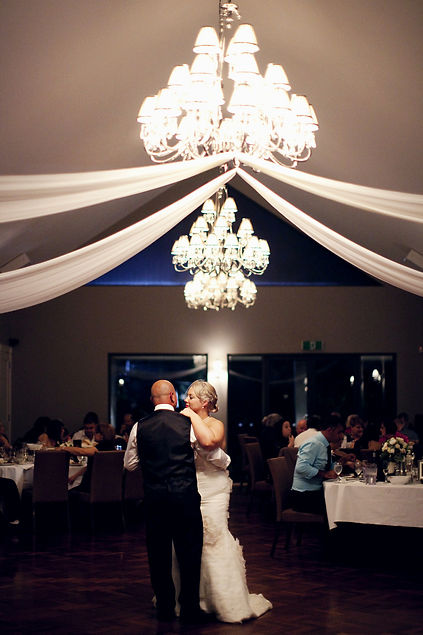 meadowbank bride and groom first dance