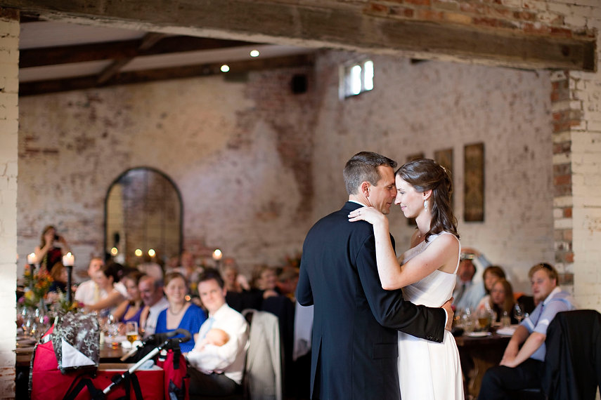 wedding in the stables at Stones of the Yarra Valley