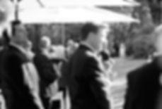 Melbourne Garden Wedding ceremony, outdoor wedding