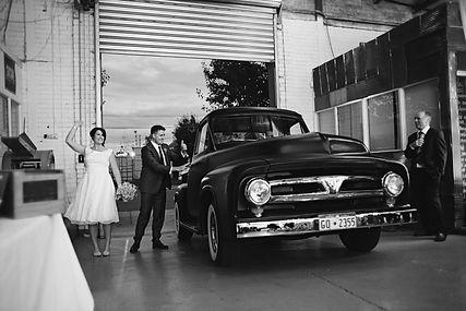 Melbourne vintage wedding photos