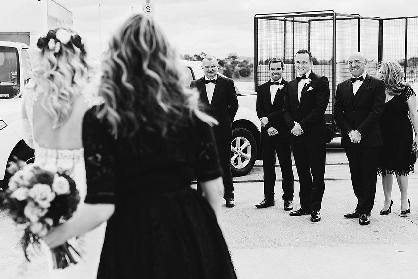 Cunningham pier wedding photos, Geelong