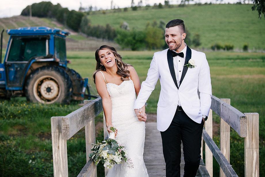 Melborne farm wedding photos