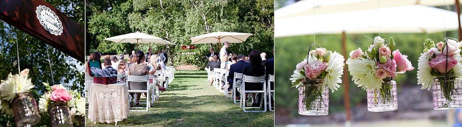 Melbourne Garden wedding -fitzroy gardens ceremony