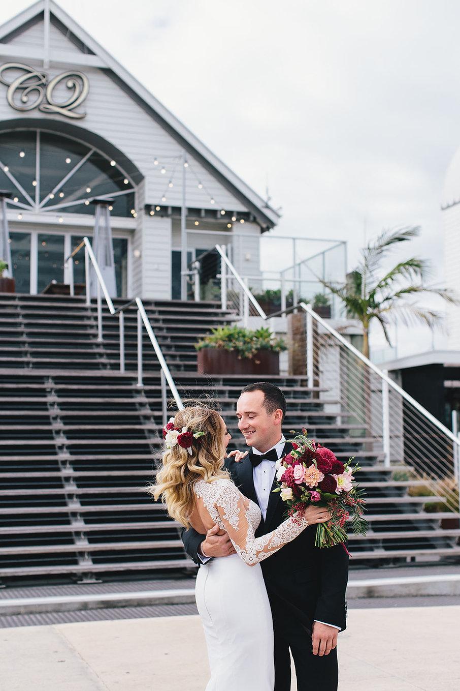 Cunningham pier wedding, Geelong