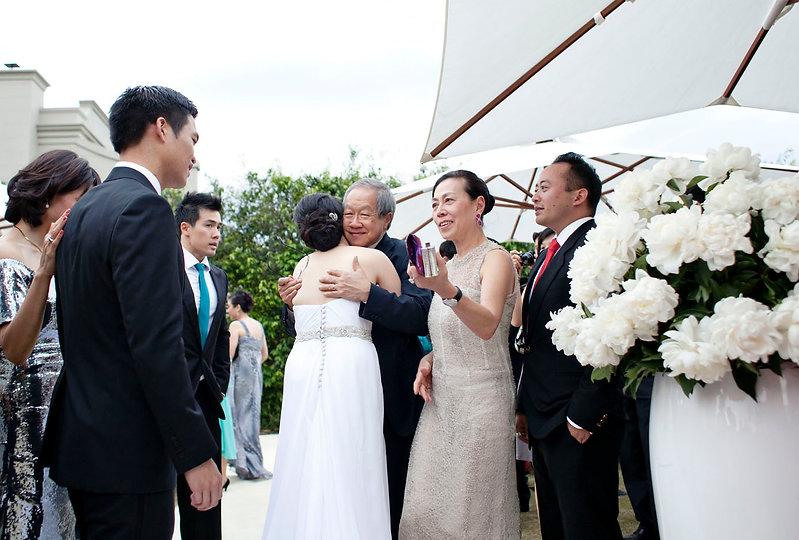 wedding in backgarden, Melbourne wedding photography