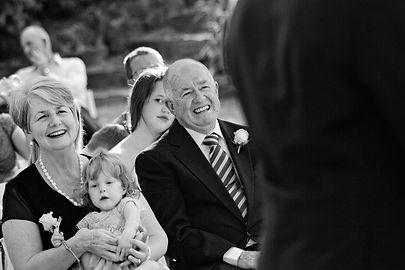 fitzroy garden wedding ceremony photos